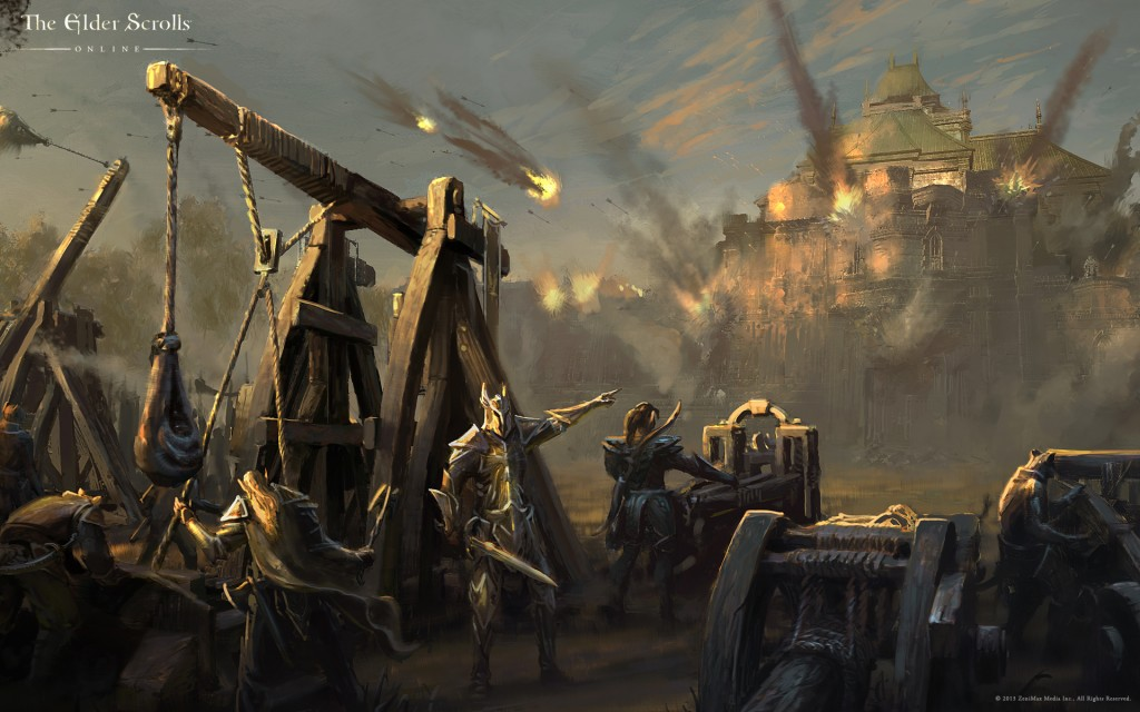 The-Elder-Scrolls-Online-Cyrodill-Under-Siege-HD-Wallpaper
