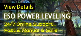 Buy ESO Power leveling