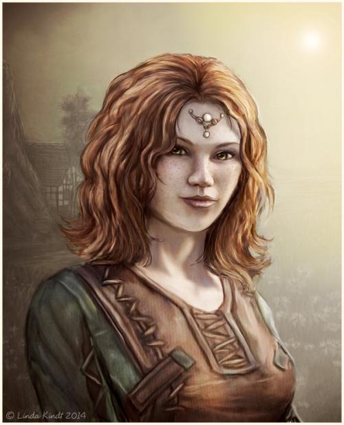 Noelie the Breton Sorcerer